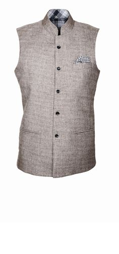 Brown nehru jacket for men online, custom Jackets for men Nehru Jacket For Men, Nehru Jackets, Indian Men Fashion, Mens Fashion, Indian Style Clothes, Custom Jackets, Wedding Tux, Waist Coat, Corporate Wear