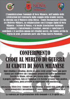 Conferimento Croci al Merito di Guerra ai Caduti di Nova Milanese