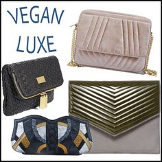 4 vegan clutches to match your winter coat