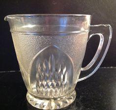 Vintage Glass Jug / Pitcher Large Serving Jug by FadoVintage Glass Jug, Vintage Decor, Retro, Shop, Neo Traditional, Rustic, Retro Illustration, Vintage Ornaments, Store