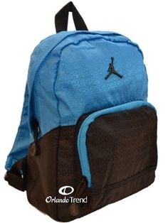 Nike Air Jordan Toddler Preschool Boy Backpack Black Blue Small Mini Girl  Bag e61d20e0aa