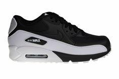 Nike Air Max 90 Premium EM (White, Black & Infrared) #schoens