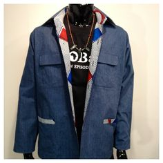 Men Jacket  Made in Japan available @ https://www.facebook.com/pages/Africa-Sunshine-Naya-Binghi/221943431159796