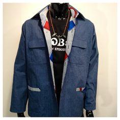 Men Jacket  Made in Japan available @ https://www.facebook.com/pages/Africa-Sunshine-Naya-Binghi/221943431159796