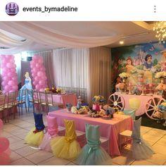 Baby Decor Disney Princess Birthday 56 Ideas For 2019 Princess Birthday Party Decorations, Disney Princess Birthday Party, Princess Theme Party, 3rd Birthday Parties, Birthday Crowns, Cinderella Party, Disney Themed Party, Disney Princess Centerpieces, Birthday Ideas