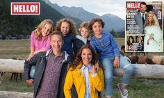 Dragon's Den star Sarah Willingham takes children on year-long trip