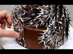 Amazing Cakes Decorating Techniques 😘 Most Satisfying Chocolate Cake Decorating Modeling Chocolate, Chocolate Art, How To Make Chocolate, Chocolate Cakes, Chocolate Decorations For Cake, Chocolate Designs, Cake Decorating Videos, Cake Decorating Techniques, Decorating Supplies