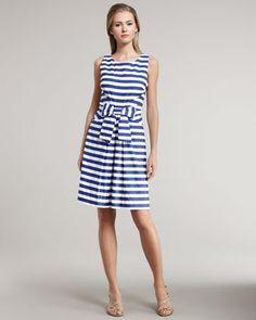 $131 kate spade new york jillian striped dress - Neiman Marcus
