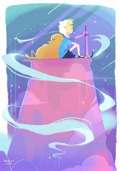 Adventure time - jake and finn by LaWeyD on DeviantArt Adventure Time Finn, Cartoon Network, Abenteuerzeit Mit Finn Und Jake, Finn Jake, Princesse Chewing-gum, Arte Do Hip Hop, Adveture Time, Wallpapers En Hd, Finn The Human