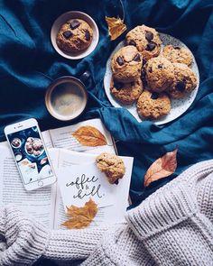 Флэтлэй, flatlay, кофе, печенье