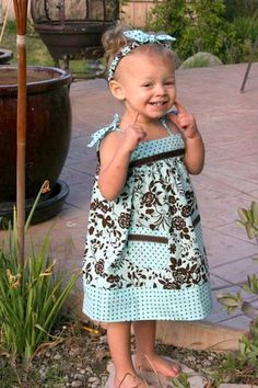Cute Cool Summer Dress3T by threesistersharvest on Etsy, $35.00