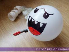 The Purple Pumpkin Blog: Boo Balloon Decorations - Nintendo Party