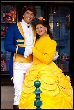 Belle and Adam :)   I can't believe his name is Adam...