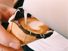 A café in Johannesburg is serving coffee in ice-cream cones