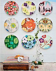Recicle seu disco de vinil e faça um painel decorativo