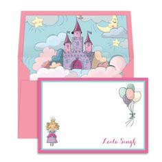 Princess & Castle Notecards