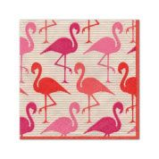 Flamingo Strut Cocktail Napkins