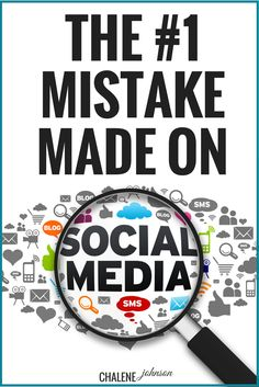 Here is the best tips for social media. Click the picture to find out the #1 biggest mistake made on social media. You might be making the mistake and not knowing it but Chalene is the bomb.com and shares the best information
