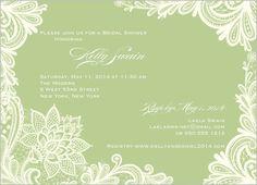 e59c119f1762 Ornamental Flourish 5x7 Bridal Shower Invitations