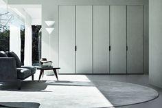 Vincent Van Duysen for Molteni &. Cabinet Door Designs, Bedroom Cupboard Designs, Bedroom Cupboards, Interior Design Tips, Home Interior, Interior And Exterior, Living Divani, Living Room, Vincent Van Duysen