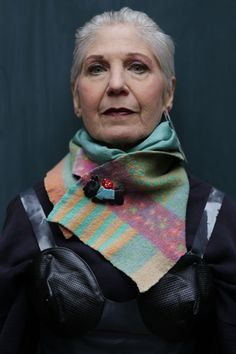 ADVANCED STYLE: Debra Rapoport