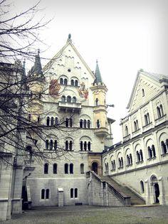 this is the Neuschanstein castle close up!
