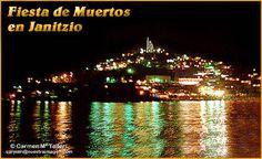 Noche de muertos en Janitzio.