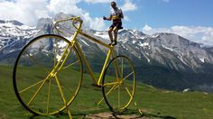 Wait! What? That's a big bike – Cyclo follower Tim Friend takes on the Pyrenees. More on Cyclo.co.uk