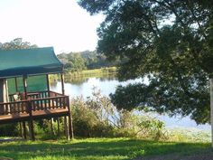 7 Passes Tented Camp - 7 Passes Tented Camp is a bed and breakfast tented camp in the tradition of the great rest camps of yesteryear; modern and luxurious.  Relax in your luxury self-catering safari tent overlooking the lake ... #weekendgetaways #wilderness #southafrica