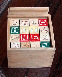 Addy has these ! Vintage blocks !