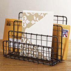 Modern Age Mail & Stationery Organizer