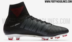 Nike will release a black, red and white Nike Mercurial Superfly V football boot to start the new season.
