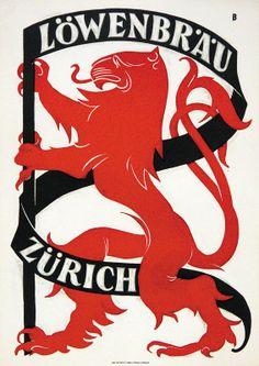 Otto Braumberger 1926 Loewenbrau Zurich