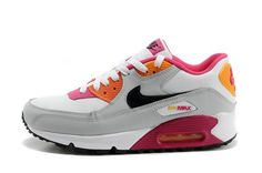 brand new d9feb 24802 Buy Nike Air Max 90 White Black Pink Online Sports Shoes FREE SHIPPING BY  DHL £