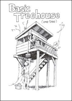 A good site to remember for treehouse plans Ideas for the boys