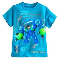 Disney Store Little Boys Miles from Tomorrowland T-Shirt Size:5/6 & 7/8