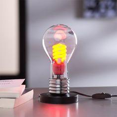 Lampe Evergreen BRILLIANT, verre transparent, 40 W