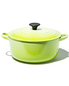 neone le creuset. oh no i didnt see this, i just bought blue...neon is so much cooler!@