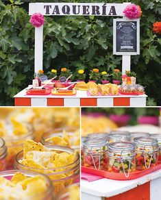 Bright and Cheerful Mexican Fiesta Birthday Party. Ward Ward S future cinco de mayo themed bday party? Mexican Fiesta Birthday Party, Fiesta Theme Party, Taco Party, Mexican Party, Salsa Party, Rainbow Layer Cakes, Taco Stand, Fiestas Party, Party Decoration