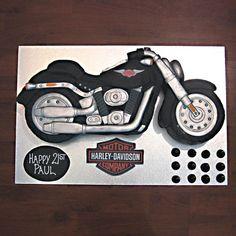harley davidson motorbike cake - Google Search