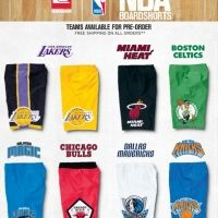 Quiksilver NBA Boardshort Collaboration! The Lakers shorts are available at South Coast Surf Shops in OB and PB San Diego!