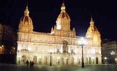 Ayuntamiento de A Coruña-Plaza de María Pita