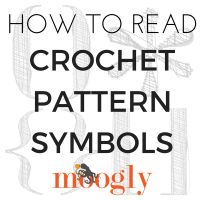 Part of learning to read crochet patterns is learning what all those symbols mean. Parentheses, asterisks, brackets, oh my! All of these can be used in the same pattern, and while it might seem confus