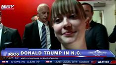 BEHIND THE SCENES: Trump Visits Business In North Carolina - FNN