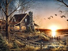 Comforts of Home by Terry Redlin   I need this one!!!