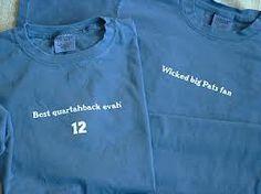 7337ebd1dc5 Wicked big Pats fan T-shirt