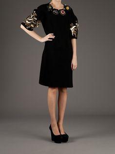 Marni Embellished Sweater Dress