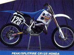 1991 Peak/Splitfire Pro Circuit Honda