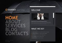 Security Company HTML5 Template
