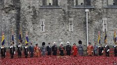 History | 11/11/14 | The last poppy is planted at the Tower of London | Volunteers have spent months installing 888,246 hand-made poppies - each representing a British and Commonwealth soldier who died during WW1